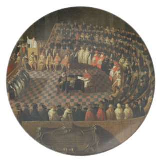 The First Chapter of the 25th Council of Trent, Ve Dinner Plates