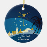 The First Christmas Personalised Ornament