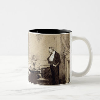 The First Cloud, from 'Leisure Hour', 1888 Two-Tone Coffee Mug