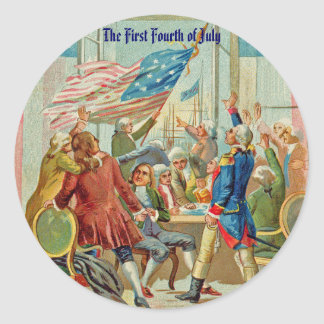 The First Fourth Of July Stickers