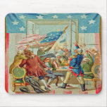 The First Fourth Of July Vintage Mousepad