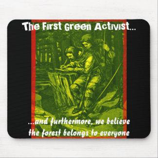 The First Green Activist... Mousepads