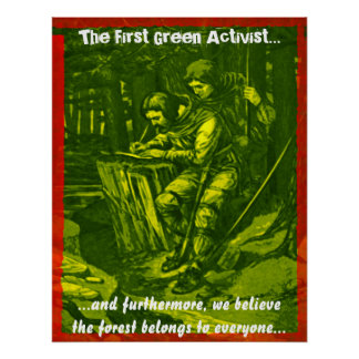 The First Green Activist... Posters