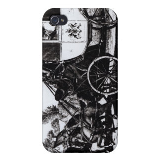 The First Mail Coach, 1784 Cases For iPhone 4