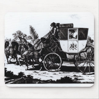 The First Mail Coach, 1784 Mouse Mat