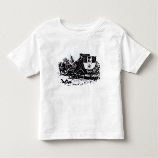 The First Mail Coach, 1784 Toddler T-Shirt