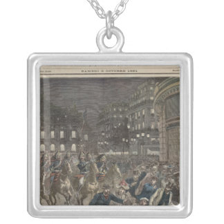 The First Performance of 'Lohengrin' Silver Plated Necklace