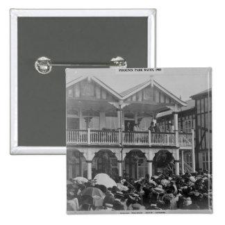 The first Phoenix Park Races, 1903 Buttons