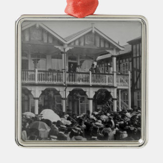 The first Phoenix Park Races, 1903 Christmas Ornament