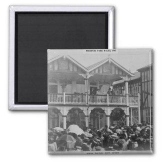 The first Phoenix Park Races, 1903 Magnet