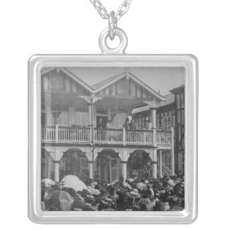 The first Phoenix Park Races, 1903 Silver Plated Necklace
