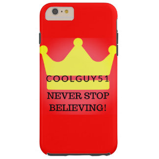 The first phone case