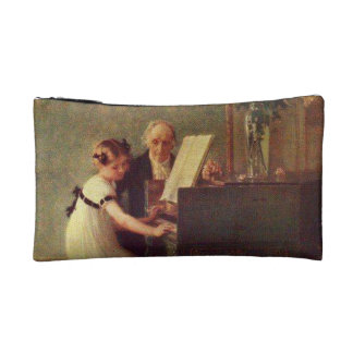The First Piano Lesson by Muenier Cosmetics Bags