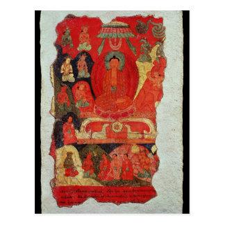 The First Sermon of Buddha Postcard
