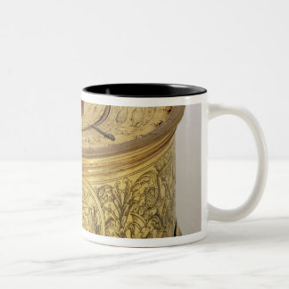 The first spring driven clock with fusee, 1525 Two-Tone coffee mug