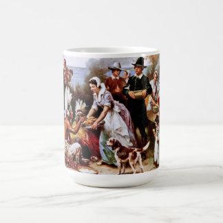 The First Thanksgiving 1621. Fine Art Gift Mugs