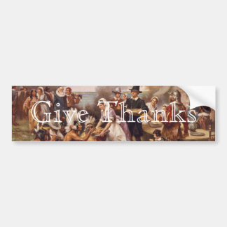 The First Thanksgiving Bumper Stickers