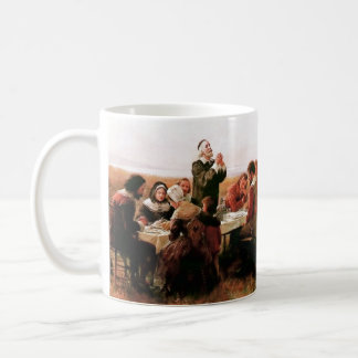 The First Thanksgiving in Plymouth Gift Mugs