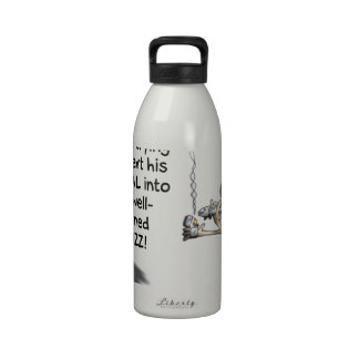 THE FISCAL CLIFF DRINKING BOTTLE