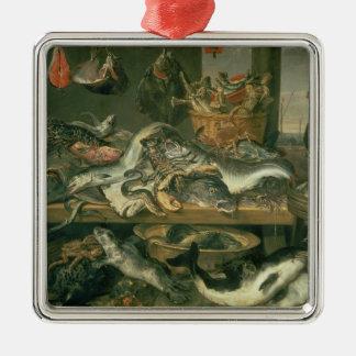The Fish Market, 1618-21 Christmas Ornament