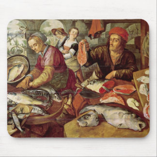 The Fish Market Mouse Pad