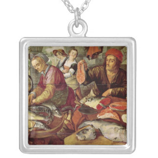 The Fish Market Silver Plated Necklace
