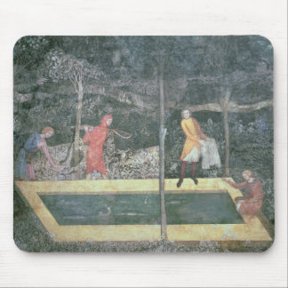 The Fish Pond, from the Stag Room, 1343 Mouse Pad