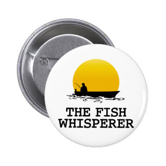 The Fish Whisperer 6 Cm Round Badge