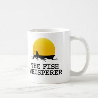 The Fish Whisperer Basic White Mug