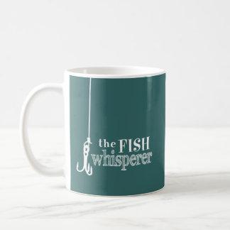 The Fish Whisperer (customizable colors) Basic White Mug