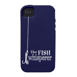 The Fish Whisperer (customizable colors) Case For The iPhone 4