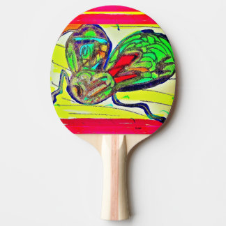 The Fish With Everything Ping Pong Paddle