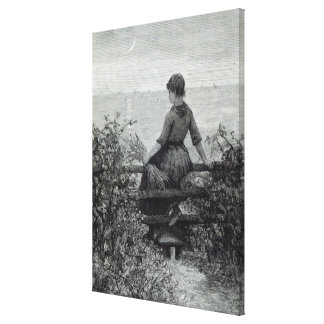 The Fisher s Lass from Leisure Hour 1888 Stretched Canvas Prints