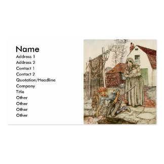 The Fisherman and his Wife Pack Of Standard Business Cards