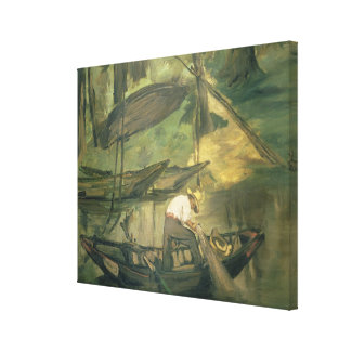 The Fisherman, c.1861 (oil on canvas) Gallery Wrap Canvas