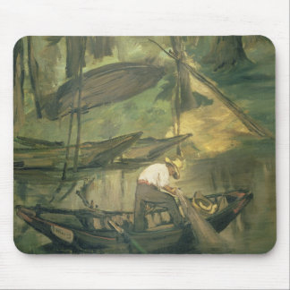 The Fisherman, c.1861 (oil on canvas) Mouse Pad