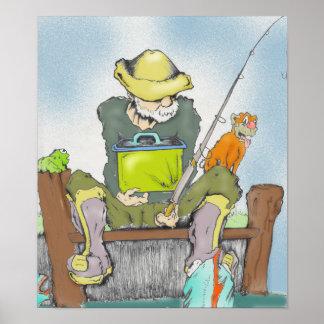the fisherman print