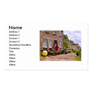 THE FISHERMAN'S COTTAGE PACK OF STANDARD BUSINESS CARDS