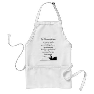 The Fishermans Prayer Standard Apron
