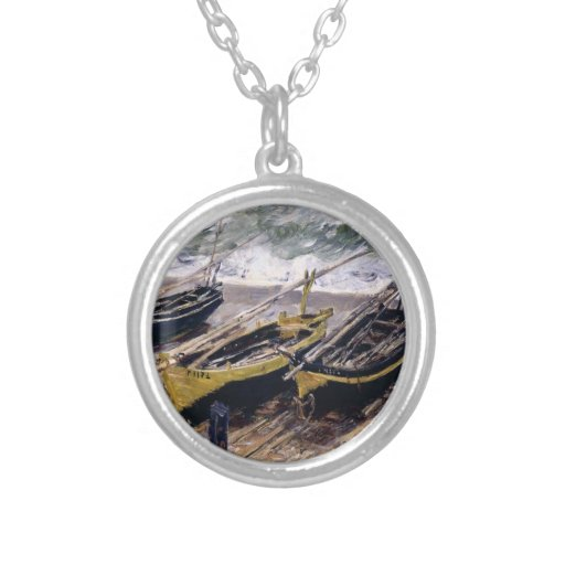 The fishing boat 3 necklace