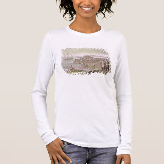 The fishing industry, Newfoundland, from 'Le Costu Long Sleeve T-Shirt