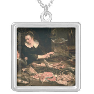 The Fishmonger Silver Plated Necklace