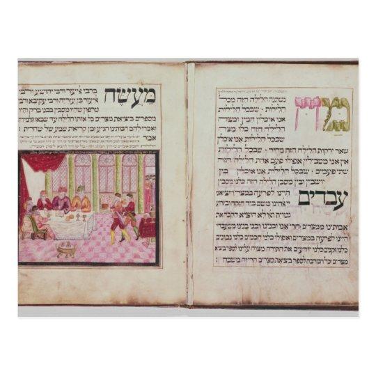 The five Rabbis of Bne Brak Postcard