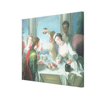 The Five Senses 2 Canvas Print