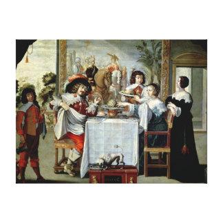 The Five Senses - Taste Canvas Print