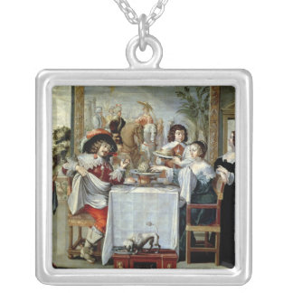 The Five Senses - Taste Silver Plated Necklace