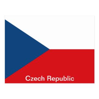 The Flag Czech Republic Postcard