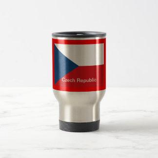 The Flag Czech Republic Stainless Steel Travel Mug