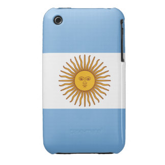 The Flag of Argentina iPhone 3 Covers
