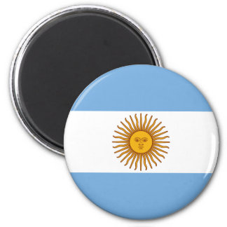 The Flag of Argentina Magnet
